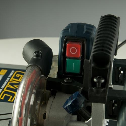 GMC Scie pour Plancher stratifié 125mm MS018 scie circulaire sécurité et interrupteur