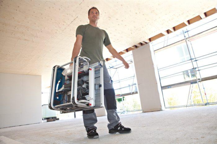 Bosch Scie circulaire sur table GTS 10 JRE transportable facilement