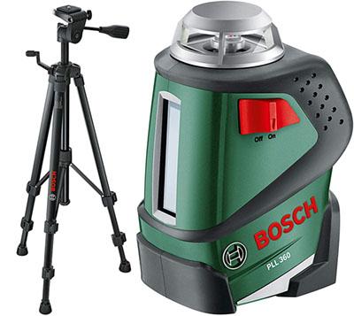 Test - Bosch Laser ligne à 360° PLL 360 et trépied 0603663001