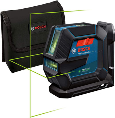 Test - Bosch Professional Niveau Laser GLL 2-15 G