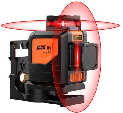 test - Tacklife SC-L04 Professionnel Niveau Laser Croix 30 m à 360°
