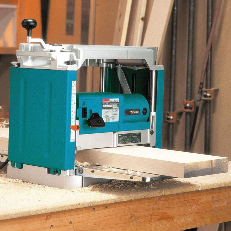 Avis - MAKITA 2012NB – Cepillo de regrueso 1650W 8500 rpm 27 kg ancho 304 mm corte hasta 3 mm