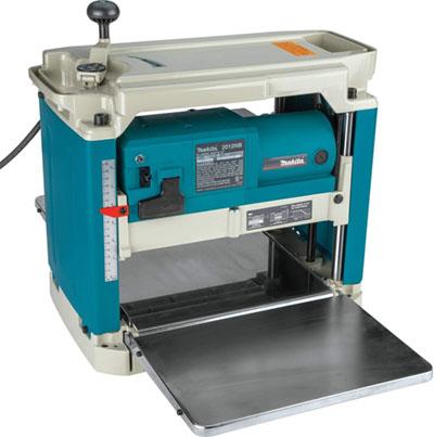 Test - MAKITA 2012NB – Cepillo de regrueso 1650W 8500 rpm 27 kg ancho 304 mm corte hasta 3 mm