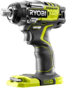 Test - Ryobi 5133002855 Boulonneuse Chocs Brushless 18V ONEPLUS-4 Modes R18IW7-0